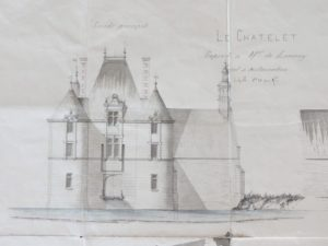 Restoration project dating from 17 August 1881 amounting to 22,000 francs